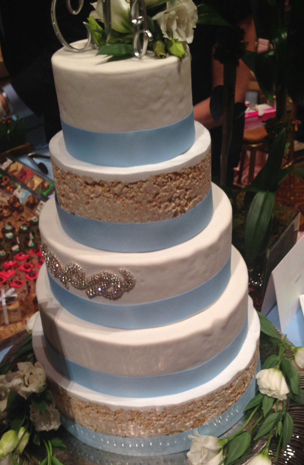 Rice Krispie Wedding Cakes  Top Wedding Trends for 2014 direct from the Martha