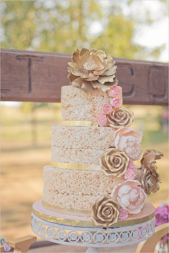Rice Krispie Wedding Cakes  Rice Krispie Wedding Cakes Arabia Weddings