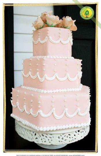 Richmond Wedding Cakes  A Peach In A Pear Tree Wedding Cake Richmond VA