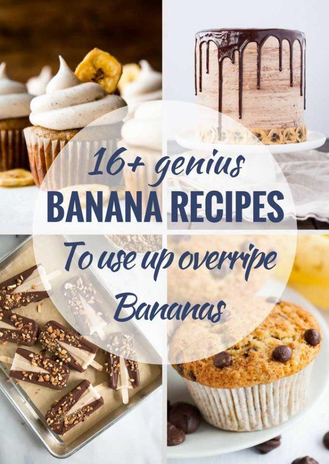 Ripe Banana Recipes Healthy  16 Delicious Recipes to Use up Ripe Bananas