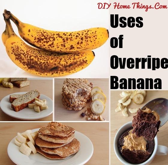 Ripe Banana Recipes Healthy  5 Healthy Ways to Use Overripe Banana