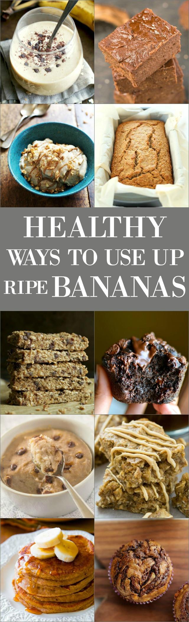 Ripe Banana Recipes Healthy  15 Healthy Ways to Use Up Those Ripe Bananas