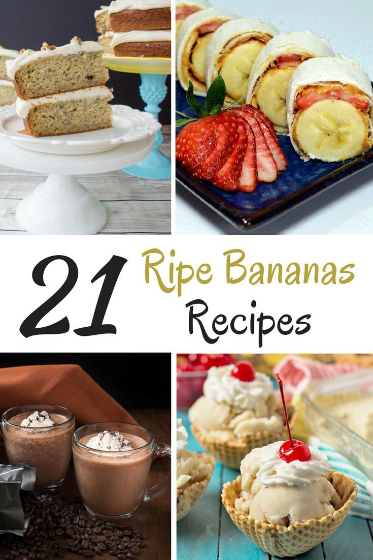 Ripe Banana Recipes Healthy  Stop Don t Throw that Banana Away 21 Ripe Bananas Recipes