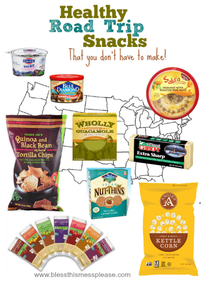 Road Trip Snacks Healthy  Healthy Road Trip Snacks that you don t have to make