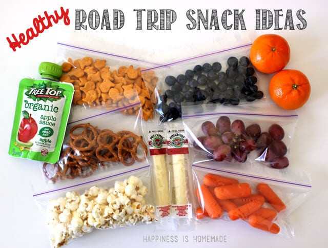 Road Trip Snacks Healthy  15 Road Trip Essentials Printable Happiness is Homemade