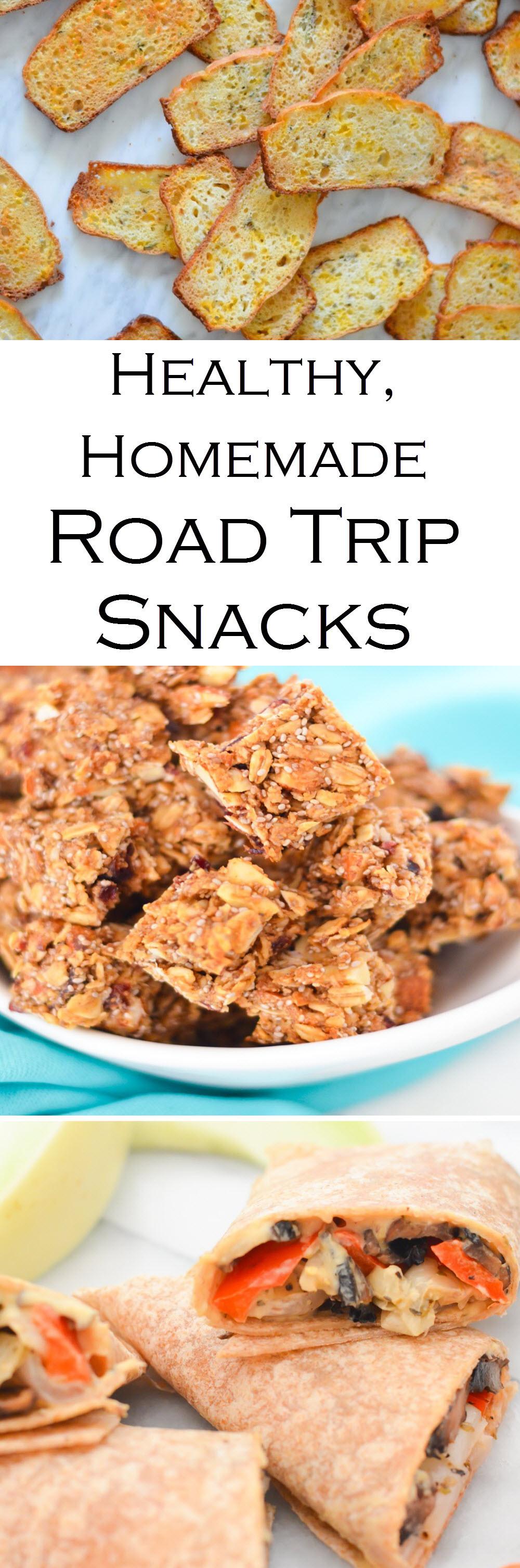 Road Trip Snacks Healthy  Healthy Homemade Road Trip Snacks