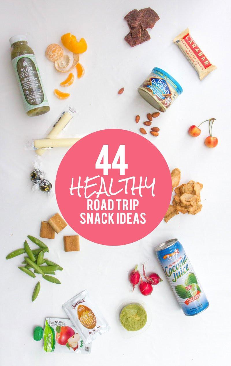 Road Trip Snacks Healthy  44 Healthy Road Trip Snack Ideas