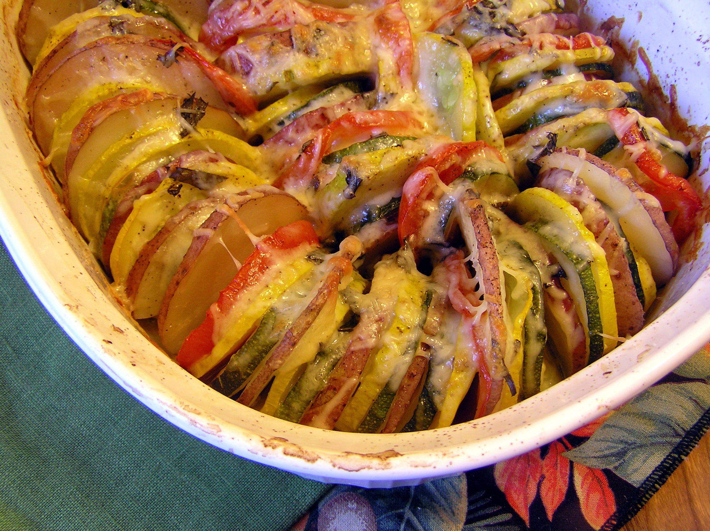 Roasted Summer Vegetables  Roasted Summer Ve able Tian