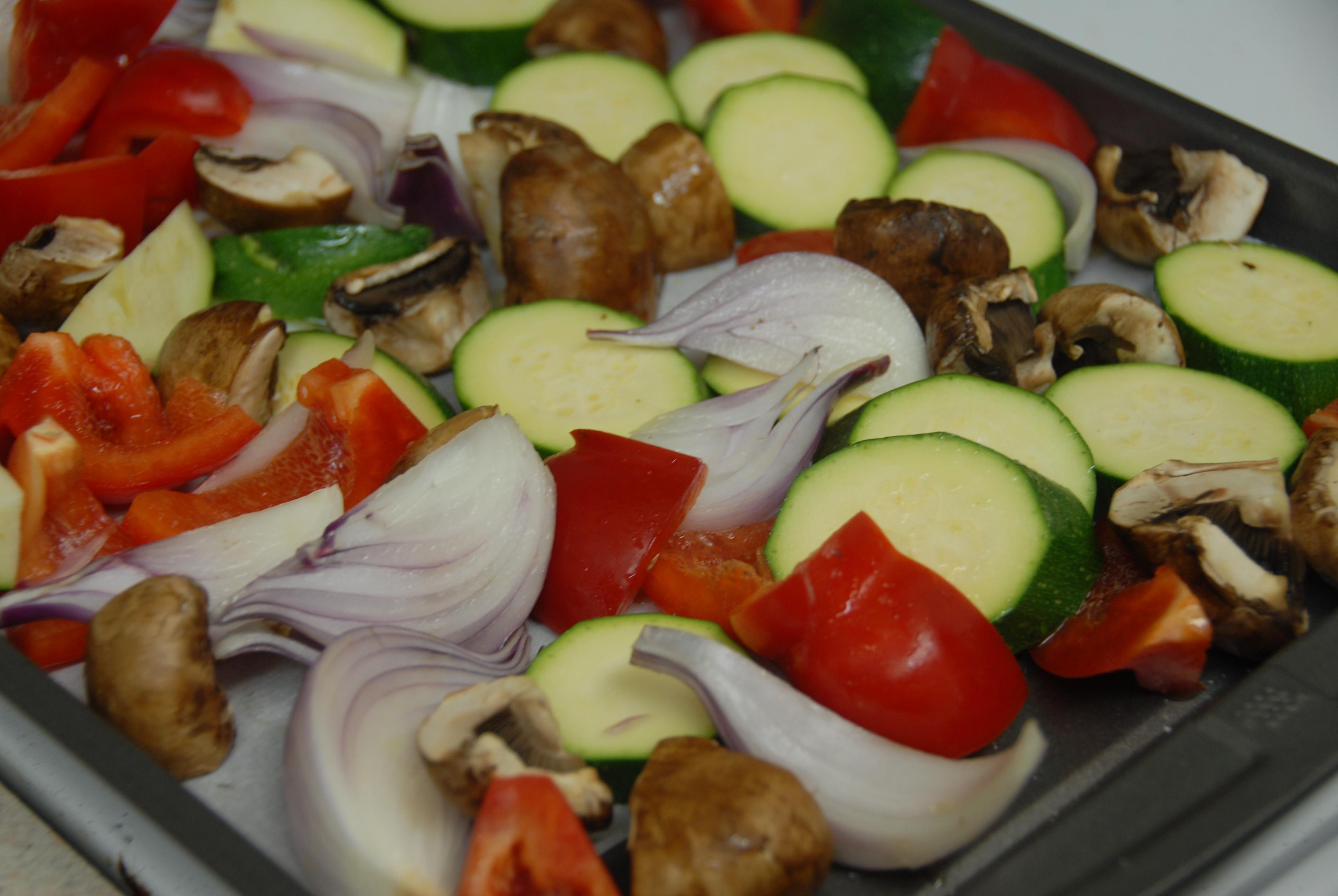 Roasted Summer Vegetables  Chilled Roasted Summer Ve ables