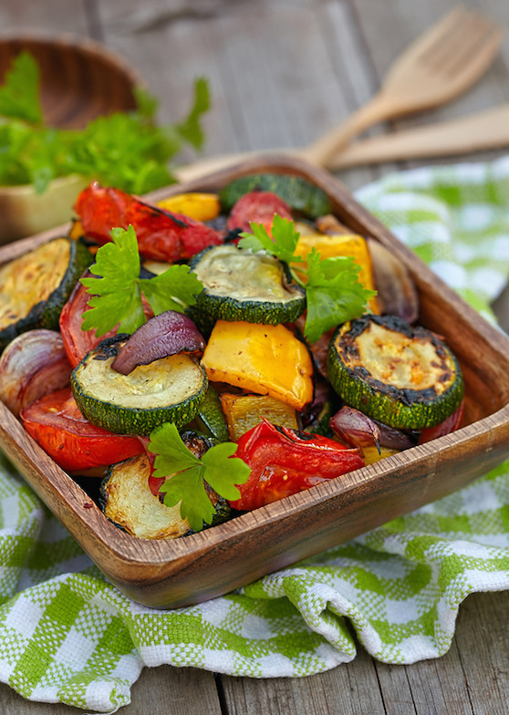 Roasted Summer Vegetables Recipe  Roasted Summer Ve able Salad