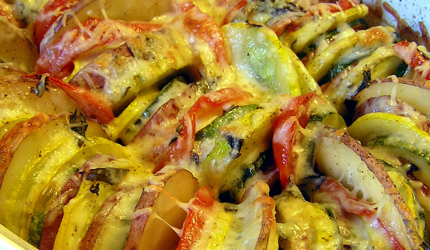 Roasted Summer Vegetables Recipe  Roasted Summer Ve able Tian