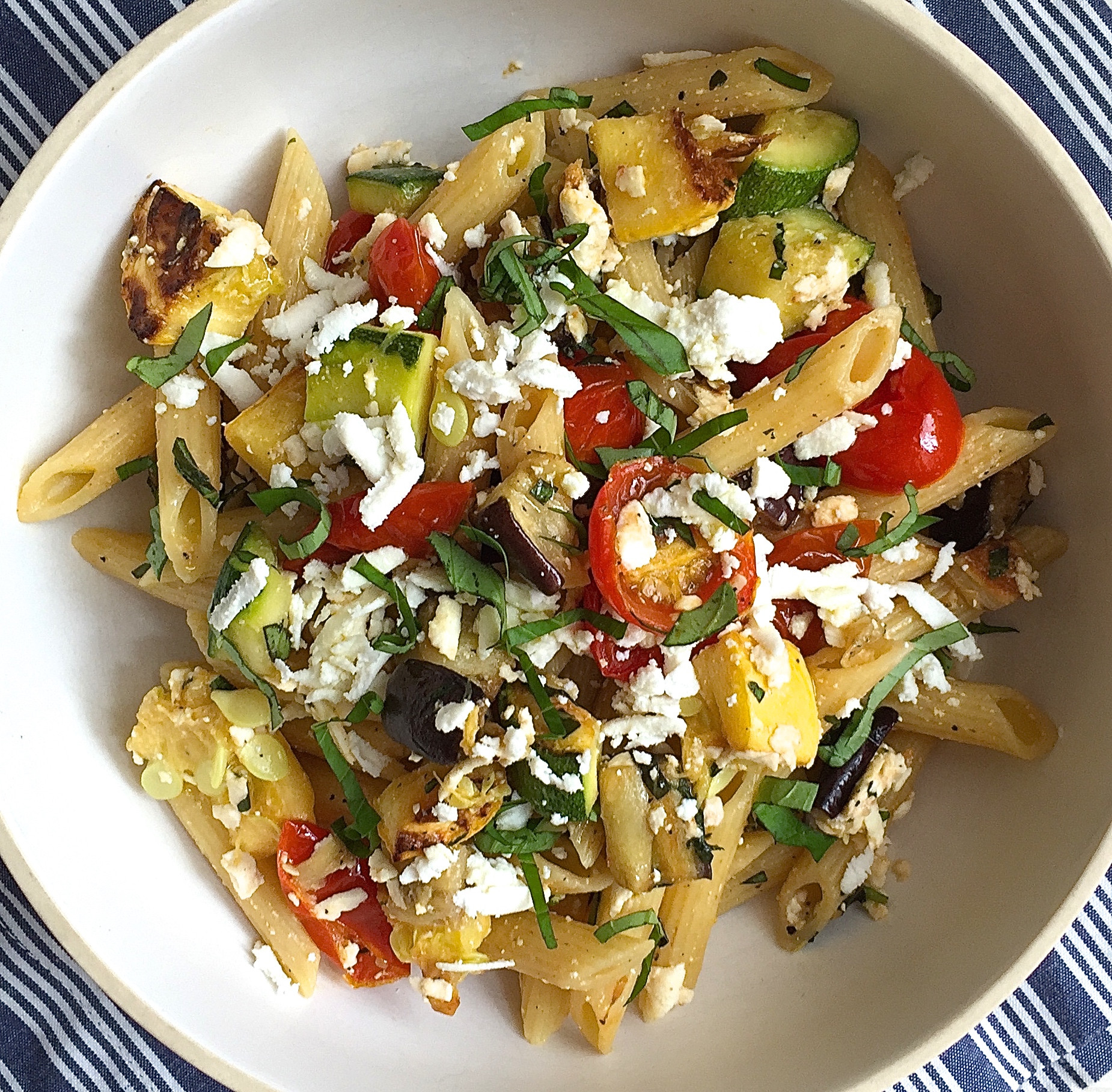 Roasted Summer Vegetables Recipe  Penne with Roasted Summer Ve ables and Ricotta Salata