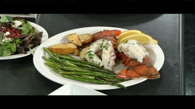 Romantic Healthy Dinners  Lobster tail is the star of a healthy romantic dinner