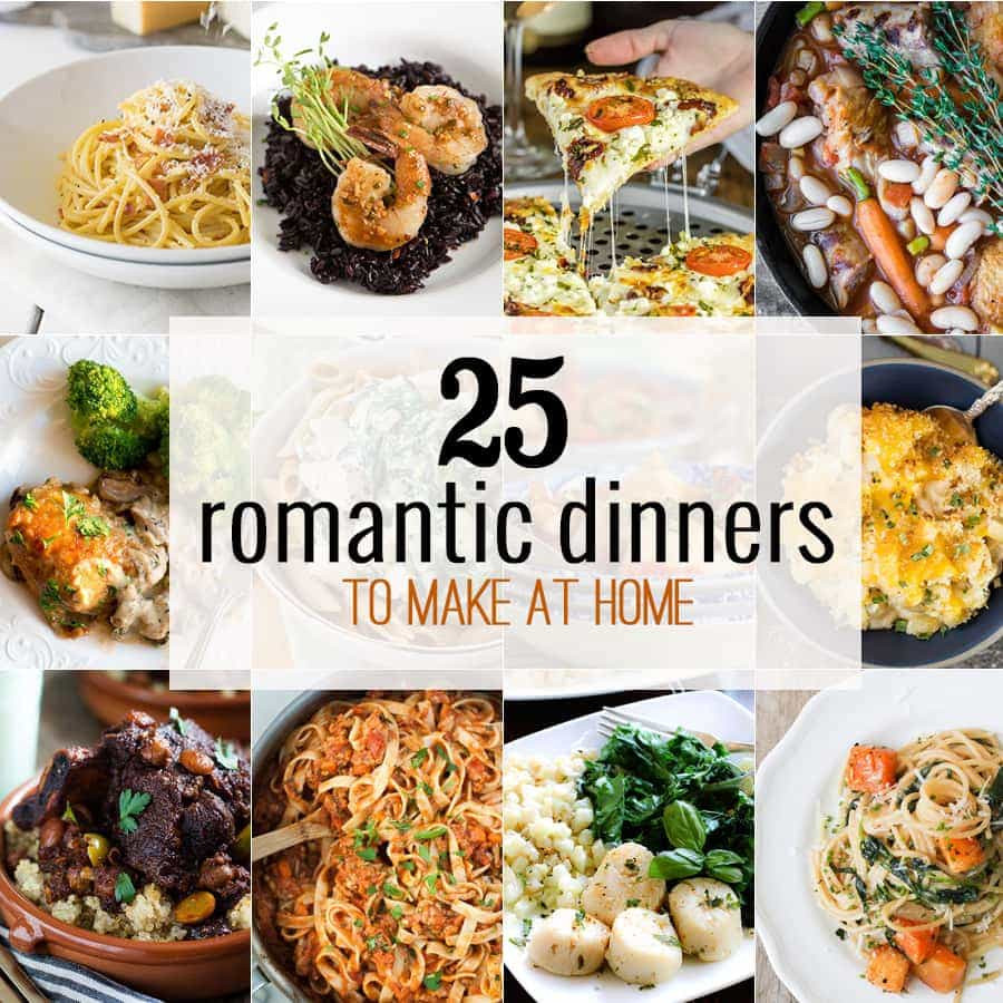 Romantic Healthy Dinners  10 Romantic Dinners to Make at Home The Cookie Rookie