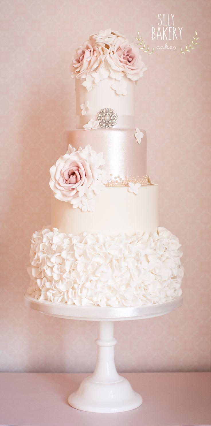 Romantic Wedding Cakes  24 Perfectly Divine Wedding Cakes