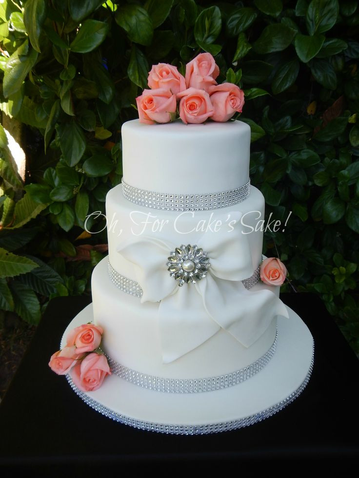 Romantic Wedding Cakes  best images about Wedding cakes on Pinterest