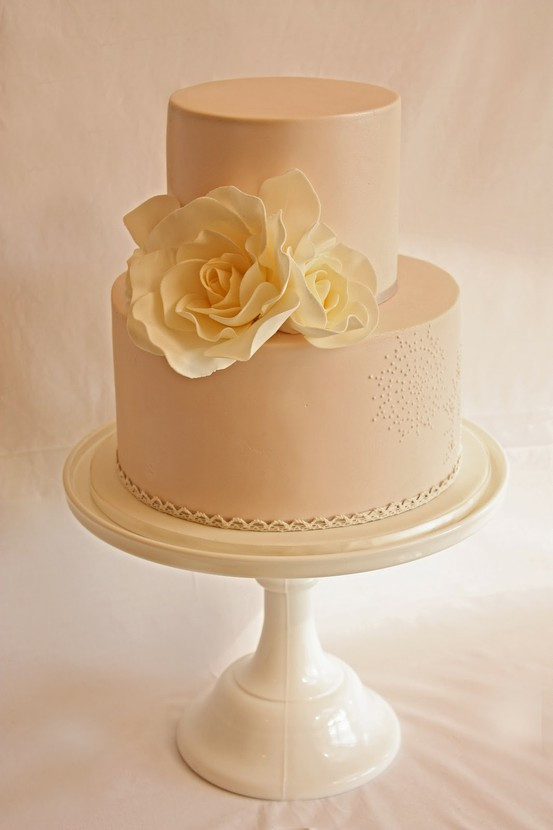 Romantic Wedding Cakes  Soft Romantic Wedding Colors Weddings By Lilly