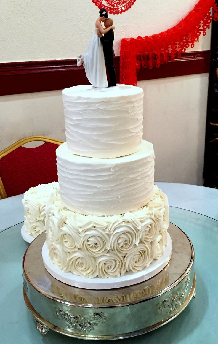 Rosette Wedding Cakes  85 best Wedding Cakes images on Pinterest