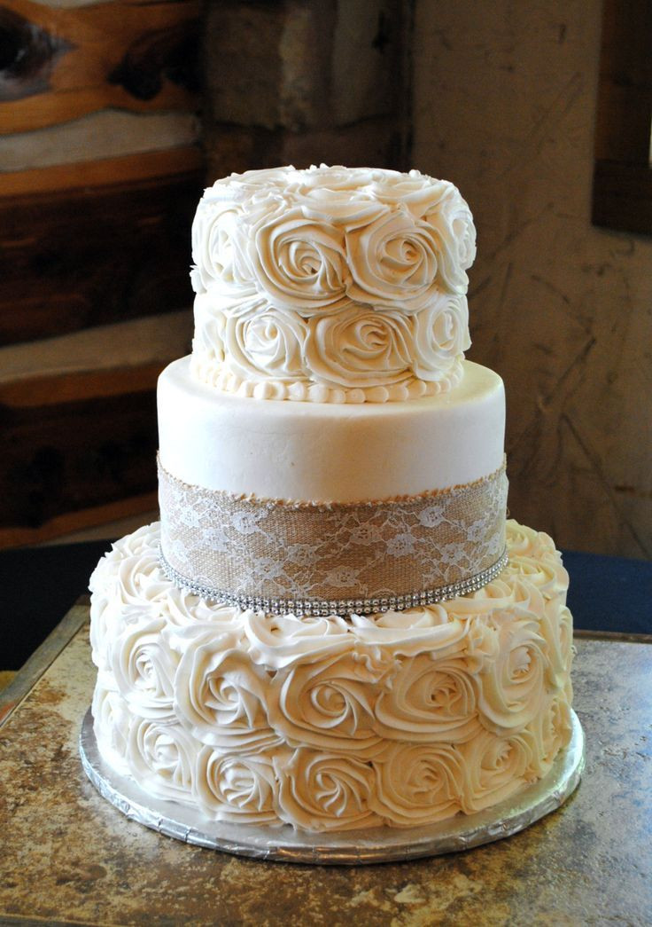 Rosette Wedding Cakes  17 Best ideas about Rosette Wedding Cakes on Pinterest