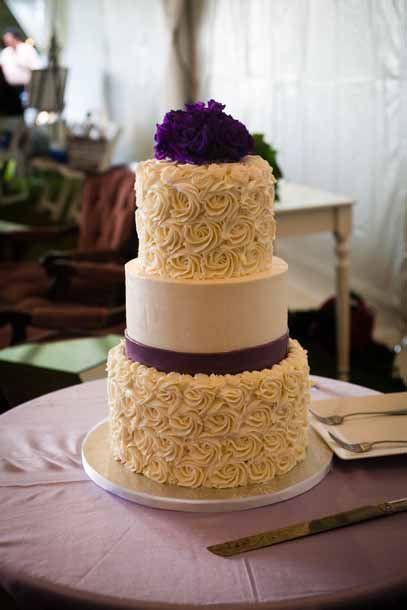 Rosette Wedding Cakes  Rosette Texture Buttercream Cake
