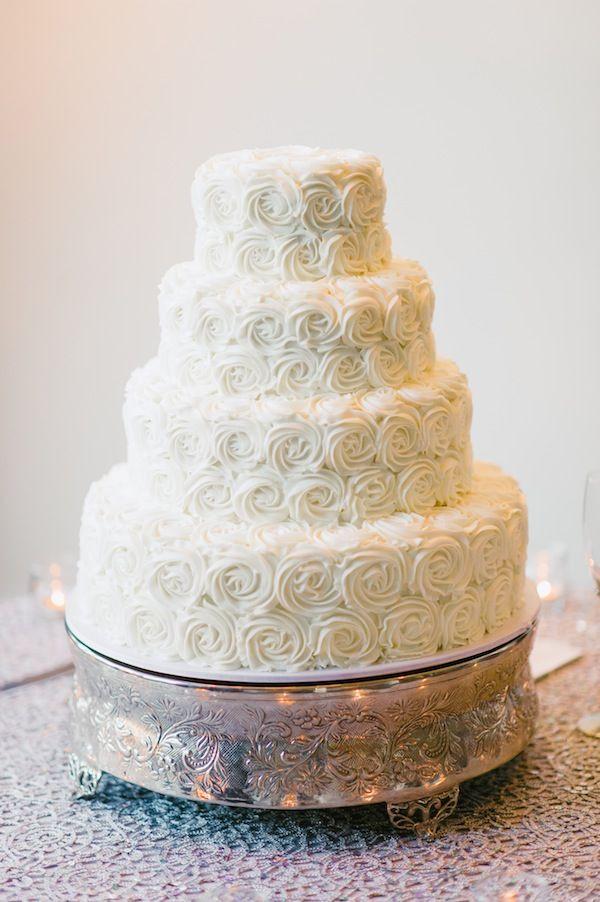 Rosette Wedding Cakes  Wedding Cake Rosettes