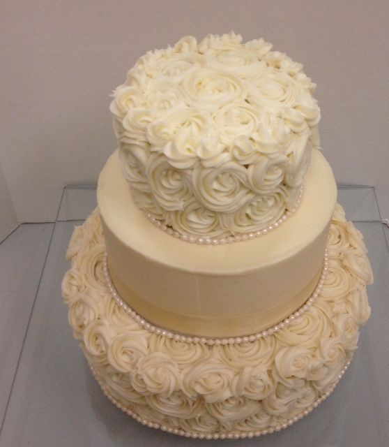 Rosette Wedding Cakes  25 best ideas about Rosette Wedding Cakes on Pinterest