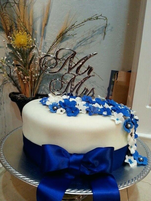 Royal Blue Wedding Cakes Designs  Royal Blue Wedding Cake Designs Summer Dress for
