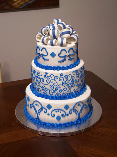 Royal Blue Wedding Cakes Designs  bridal style and wedding ideas Royal Blue Wedding Cakes