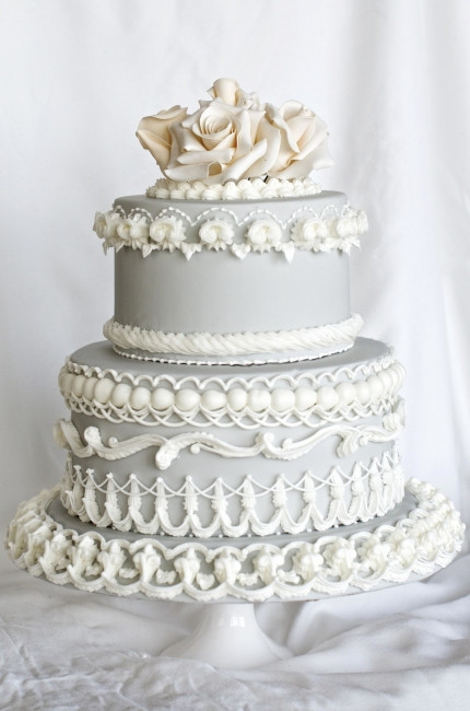 Royal Icing Wedding Cakes  Wedding Cakes FINESPUN