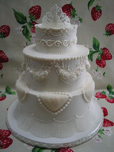 Royal Icing Wedding Cakes  Royal icing Wedding cake 2 a photo on Flickriver