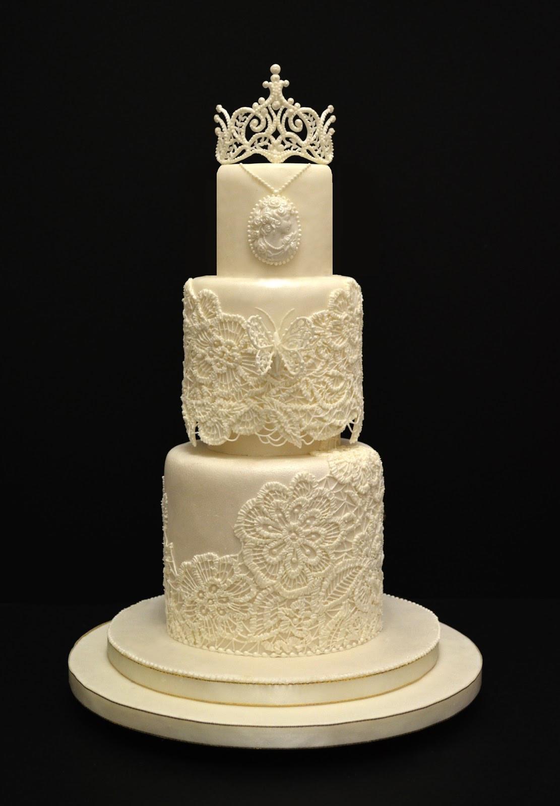 Royal Icing Wedding Cakes  vinism sugar art the bride