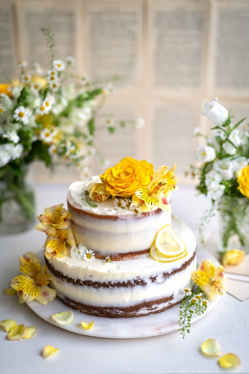 Royal Wedding Cake Recipe  Make a Royal lemon and elderflower wedding cake