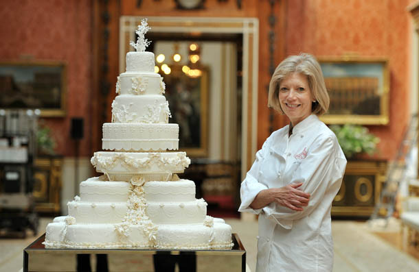 Royal Wedding Cake Recipe  William and Kate s wedding cake made by maker Fiona Cairns