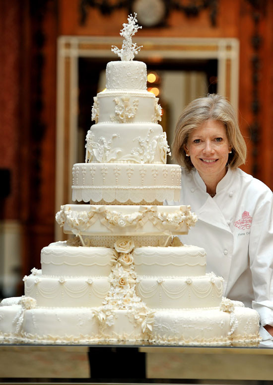 Royal Wedding Cake Recipe  The Royal Wedding The Royal Wedding Cake