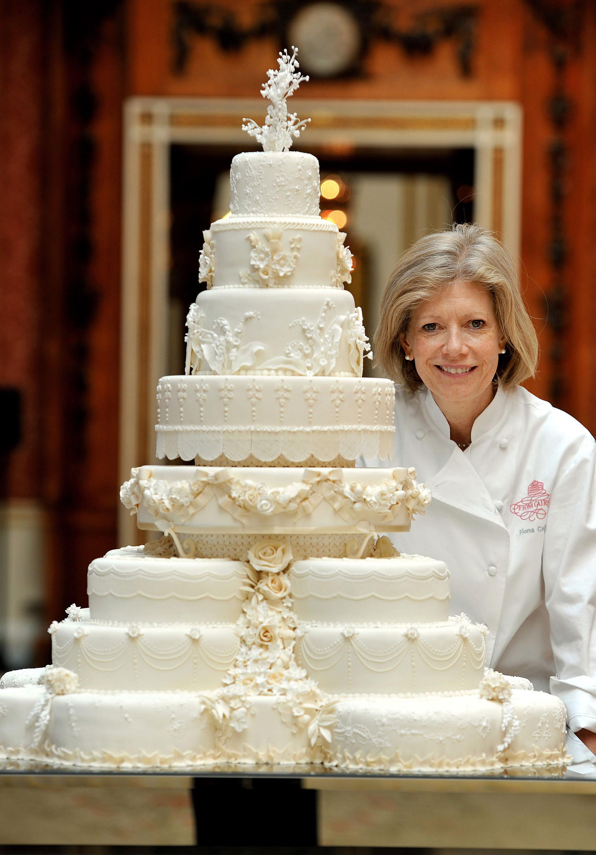 Royal Wedding Cakes  Kate Middleton Prince William's Wedding Cake Slice to Be