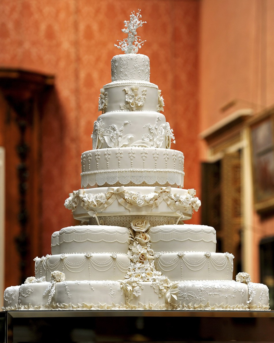 Royal Wedding Cakes  British Royal Wedding Cakes Wonderful