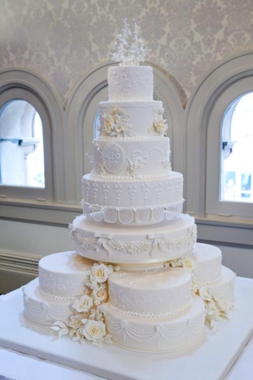 Royal Wedding Cakes  Royal wedding cake replica at Baroque Patisserie