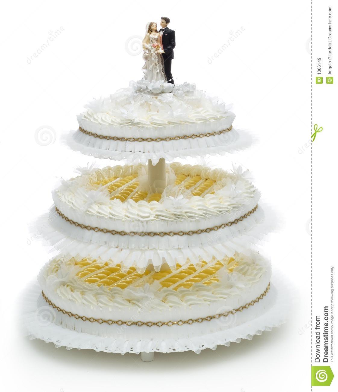 Royalty Wedding Cakes  Wedding Cake Royalty Free Stock Image