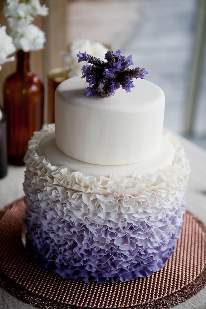 Ruffle Wedding Cakes  Wedding Trends Ruffled Cakes Belle The Magazine