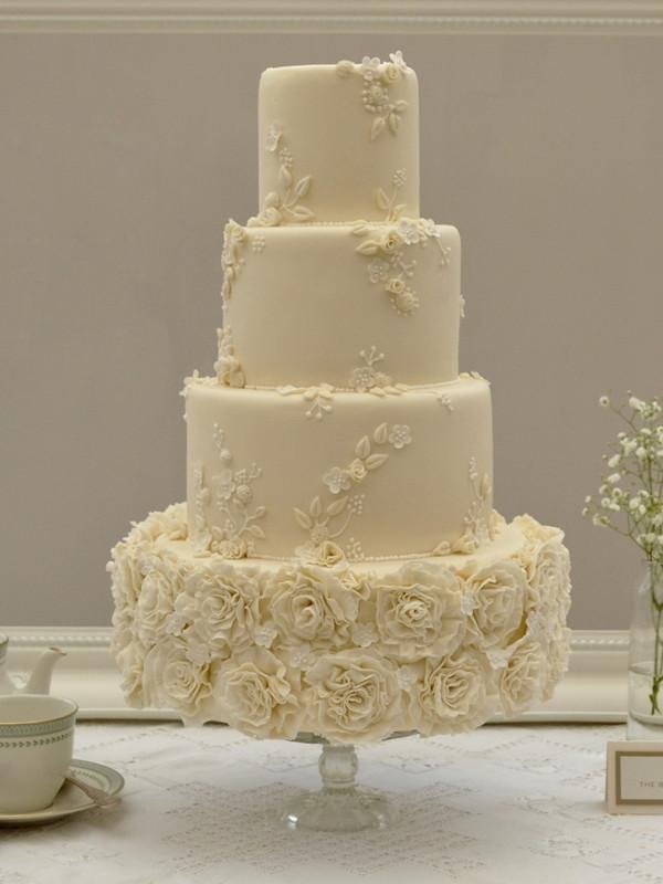 Ruffle Wedding Cakes  Wedding Cakes Archive