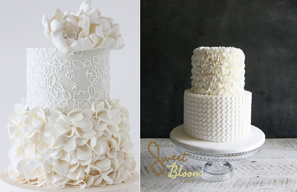 Ruffled Wedding Cakes  Ruffle Wedding Cakes – Petal Ruffles – Cake Geek Magazine