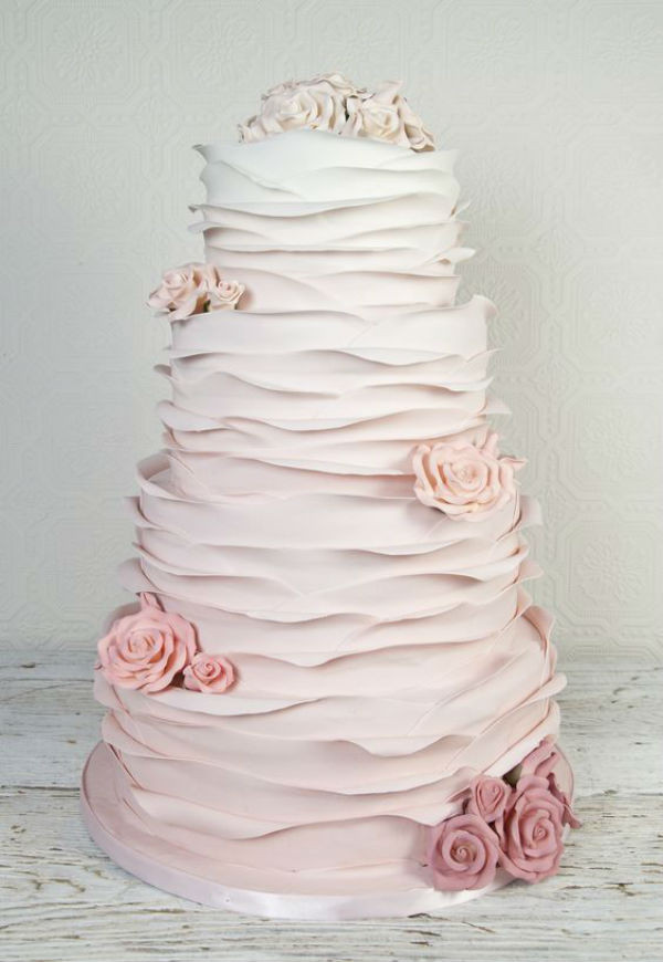 Ruffled Wedding Cakes  5 Ruffle Wedding Cakes We're Loving – Eastbourne Lifestyle
