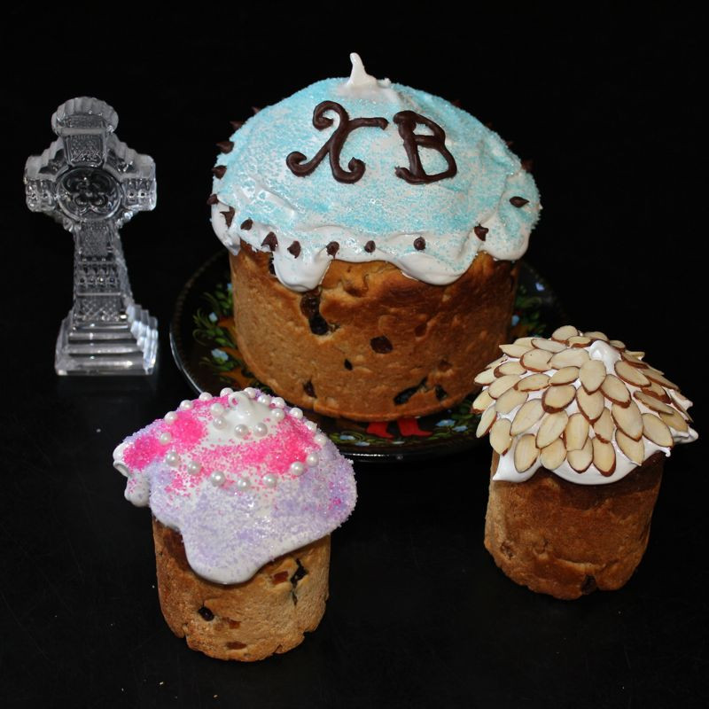 Russian Easter Bread  Kulich – Russian Easter Bread