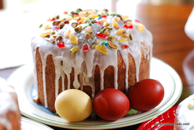 Russian Easter Bread  Russian Easter Bread Kulich – Cooking Crossroads