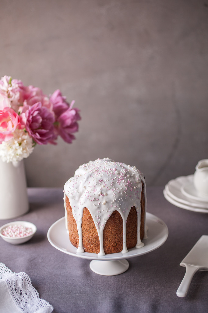 Russian Easter Bread  Kulich Russian Easter Bread
