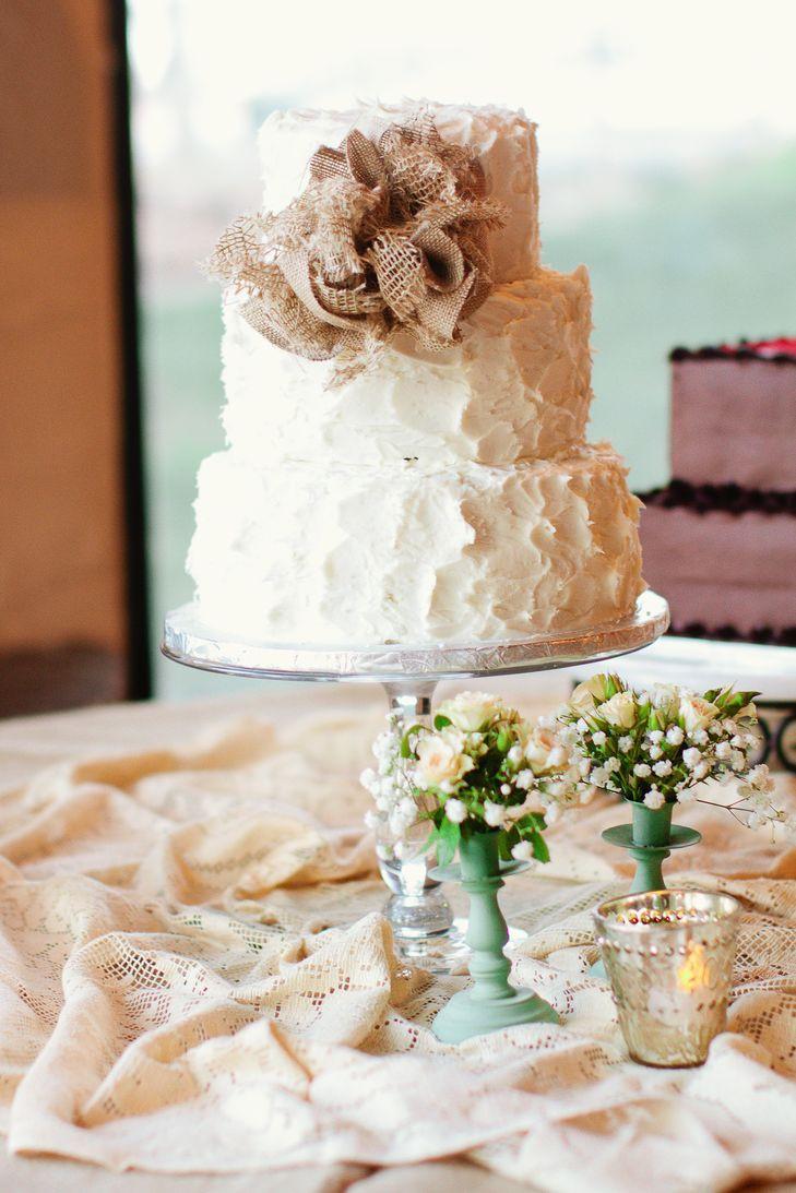 Rustic Buttercream Wedding Cakes  Rustic Buttercream Wedding Cake