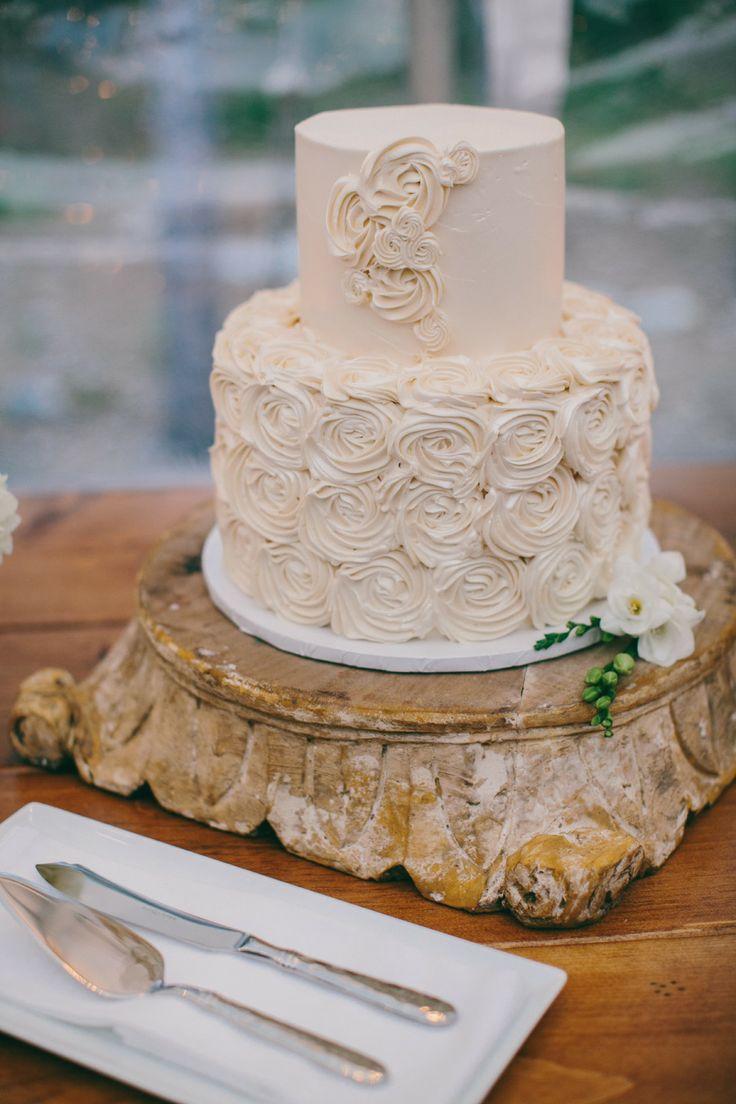 Rustic Buttercream Wedding Cakes  Rustic Fall wedding cake