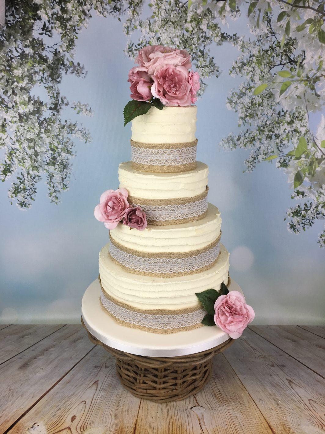 Rustic Buttercream Wedding Cakes  Rustic buttercream wedding cake Mel s Amazing Cakes