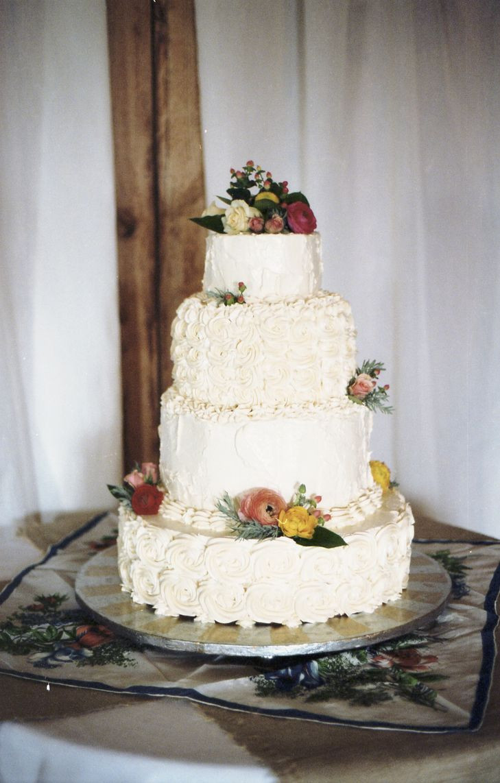 Rustic Buttercream Wedding Cakes  Rustic Buttercream Cake