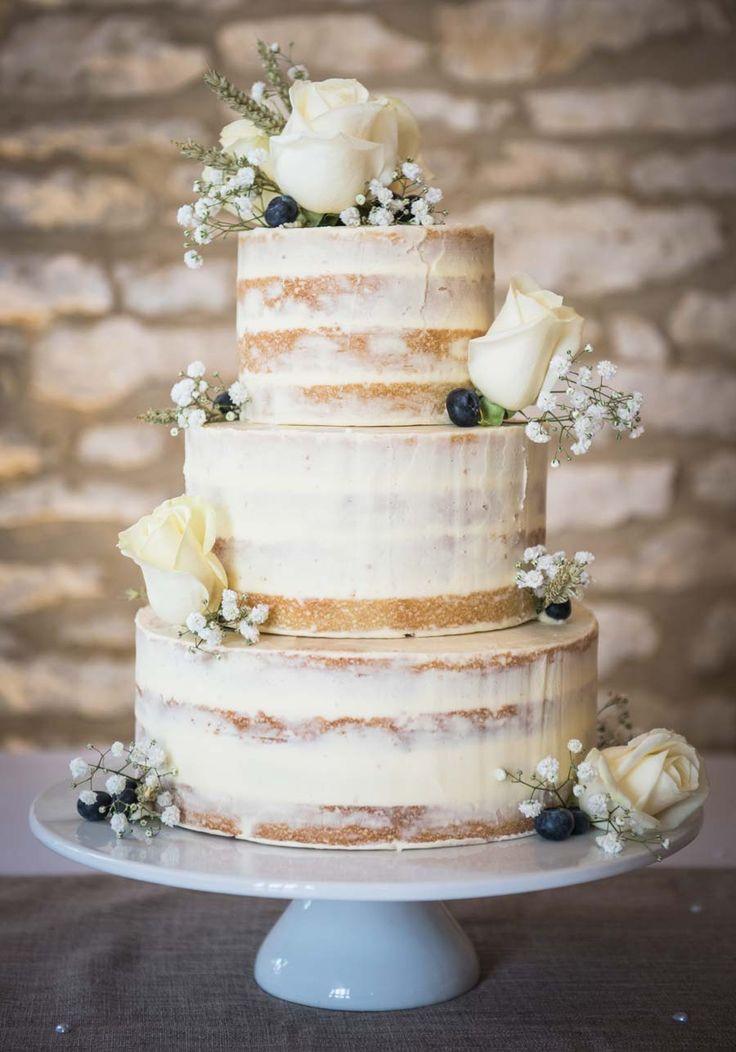 Rustic Buttercream Wedding Cakes  Best 25 Buttercream Wedding Cake ideas on Pinterest